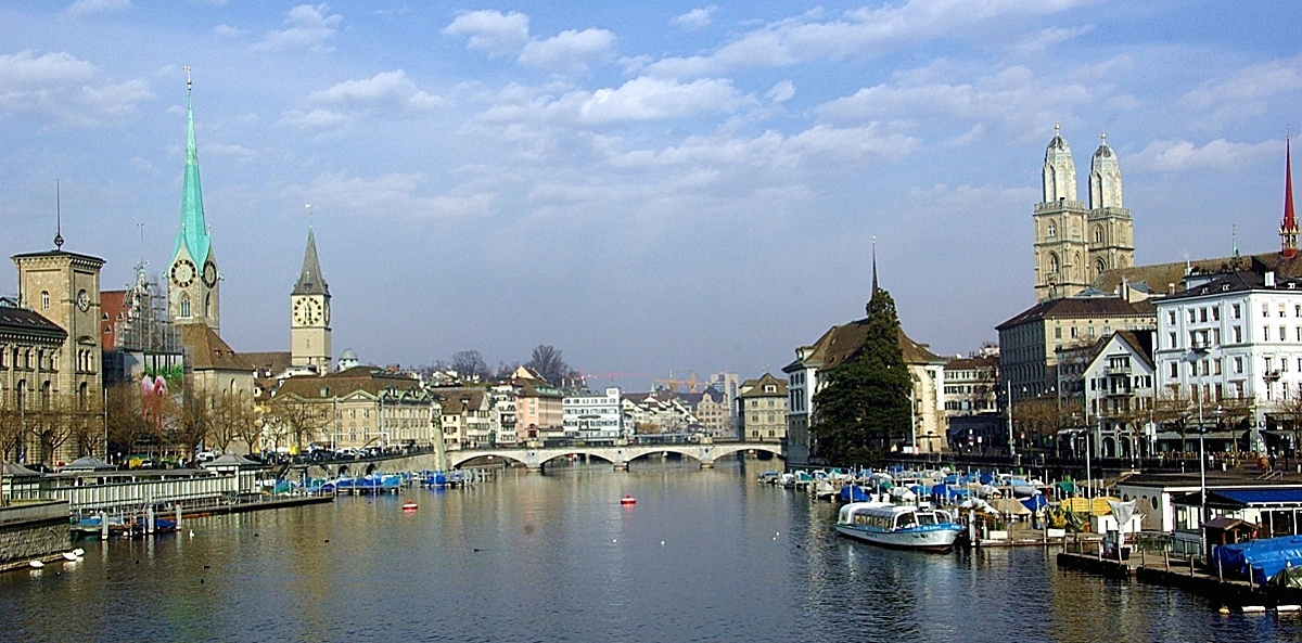 Photograph of Zurich city